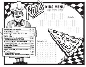 Rons-Pizza-Kids-Menu