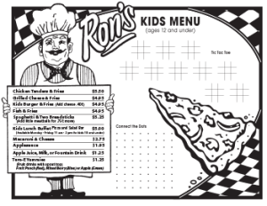 Rons-Pizza-Kids-Menu